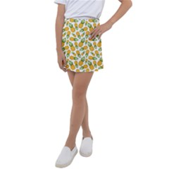 Pineapples Kids  Tennis Skirt by goljakoff