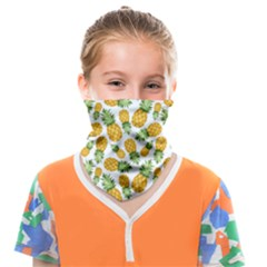 Pineapples Face Covering Bandana (kids) by goljakoff