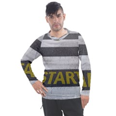 Asphalt Begin Bright Expectation Men s Pique Long Sleeve Tee
