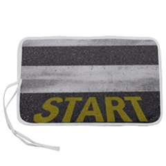 Asphalt Begin Bright Expectation Pen Storage Case (m)