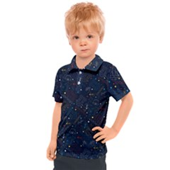 Traditional Tribal Pattern Kids  Polo Tee