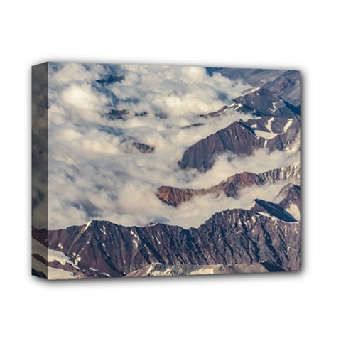 Andes Mountains Aerial View, Chile Deluxe Canvas 14  X 11  (stretched)