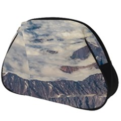 Andes Mountains Aerial View, Chile Full Print Accessory Pouch (big)