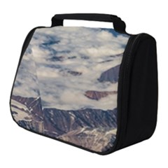 Andes Mountains Aerial View, Chile Full Print Travel Pouch (small)