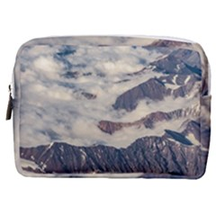 Andes Mountains Aerial View, Chile Make Up Pouch (medium)