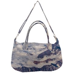Andes Mountains Aerial View, Chile Removal Strap Handbag