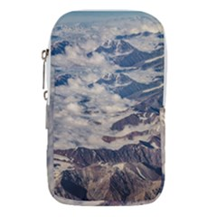 Andes Mountains Aerial View, Chile Waist Pouch (large)