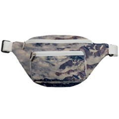 Andes Mountains Aerial View, Chile Fanny Pack