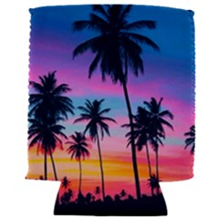 Sunset Palms Can Holder by goljakoff