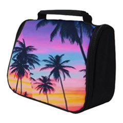 Sunset Palms Full Print Travel Pouch (small) by goljakoff