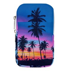 Sunset Palms Waist Pouch (large) by goljakoff