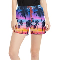 Sunset Palms Runner Shorts