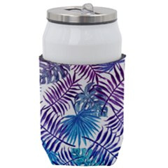Blue Tropical Leaves Can Holder by goljakoff