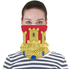 Arms Of Castile Face Seamless Bandana (adult)