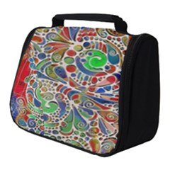 Pop Art - Spirals World 1 Full Print Travel Pouch (small) by EDDArt