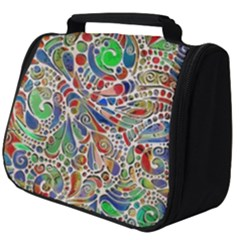 Pop Art - Spirals World 1 Full Print Travel Pouch (big) by EDDArt