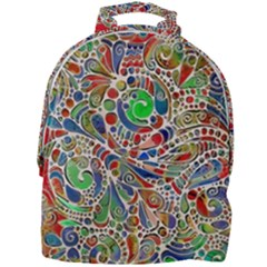 Pop Art - Spirals World 1 Mini Full Print Backpack by EDDArt