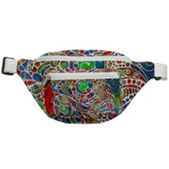 Pop Art - Spirals World 1 Fanny Pack by EDDArt