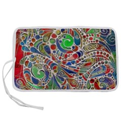 Pop Art - Spirals World 1 Pen Storage Case (l) by EDDArt