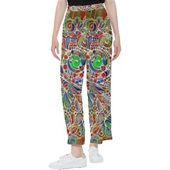 Pop Art - Spirals World 1 Women s Pants  by EDDArt