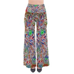 Pop Art - Spirals World 1 So Vintage Palazzo Pants by EDDArt
