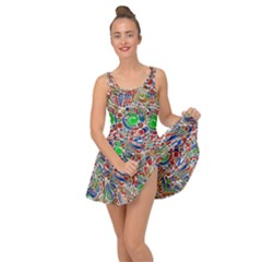 Pop Art - Spirals World 1 Inside Out Casual Dress
