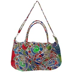 Pop Art - Spirals World 1 Removal Strap Handbag by EDDArt