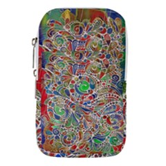 Pop Art - Spirals World 1 Waist Pouch (large) by EDDArt