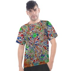 Pop Art - Spirals World 1 Men s Sport Top