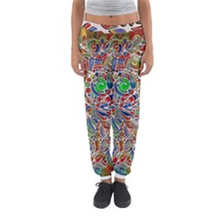 Pop Art - Spirals World 1 Women s Jogger Sweatpants