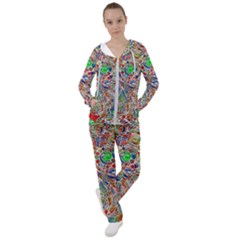 Pop Art - Spirals World 1 Women s Tracksuit