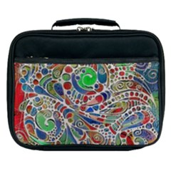 Pop Art - Spirals World 1 Lunch Bag by EDDArt