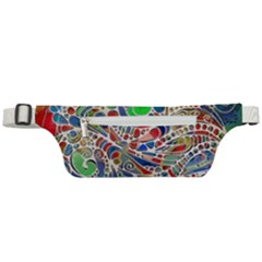 Pop Art - Spirals World 1 Active Waist Bag by EDDArt