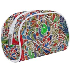 Pop Art - Spirals World 1 Makeup Case (large)