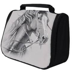 Custom Horse Full Print Travel Pouch (big)