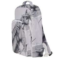 Custom Horse Double Compartment Backpack