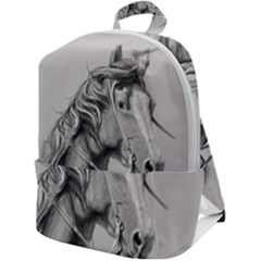 Custom Horse Zip Up Backpack