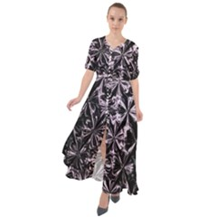 New Age Armor Waist Tie Boho Maxi Dress