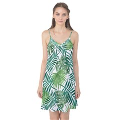 Green Tropical Leaves Camis Nightgown by goljakoff