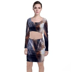 Digital Geometry Top And Skirt Sets