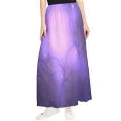 Violet Spark Maxi Chiffon Skirt by Sparkle