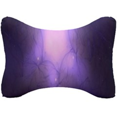 Violet Spark Seat Head Rest Cushion