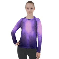 Violet Spark Women s Pique Long Sleeve Tee