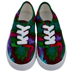 Rainbow Waves Kids  Classic Low Top Sneakers