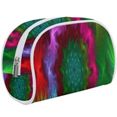 Rainbow Waves Makeup Case (large) by Sparkle