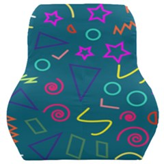 Memphis  Car Seat Back Cushion  by Sobalvarro
