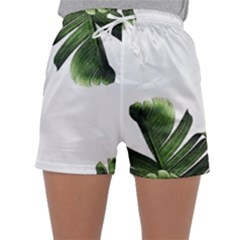 Banana Leaves Sleepwear Shorts by goljakoff
