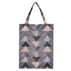 Modern Triangles Classic Tote Bag by LoolyElzayat