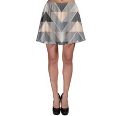 Modern Triangles Skater Skirt by LoolyElzayat