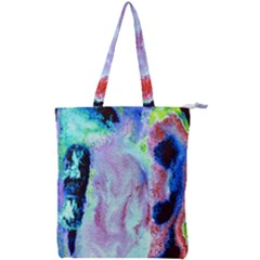 5 Double Zip Up Tote Bag